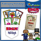 Monthly Holiday Interactive Foldable Booklets