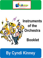 Instruments of the Orchestra Interactive Foldable Booklets