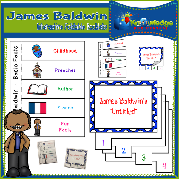 James Baldwin Interactive Foldable Booklets