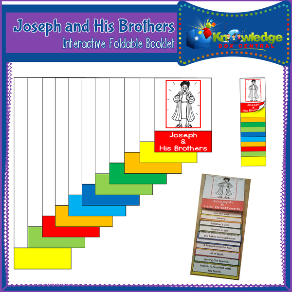 Joseph & His Brothers Interactive Foldable Booklets