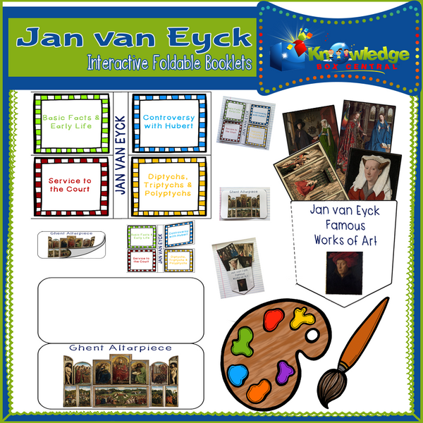 Jan van Eyck Interactive Foldable Booklets