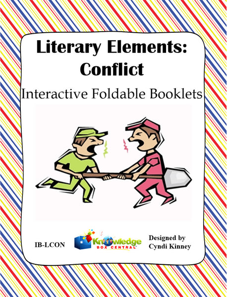 Literary Elements: CONFLICT Interactive Foldable Booklets