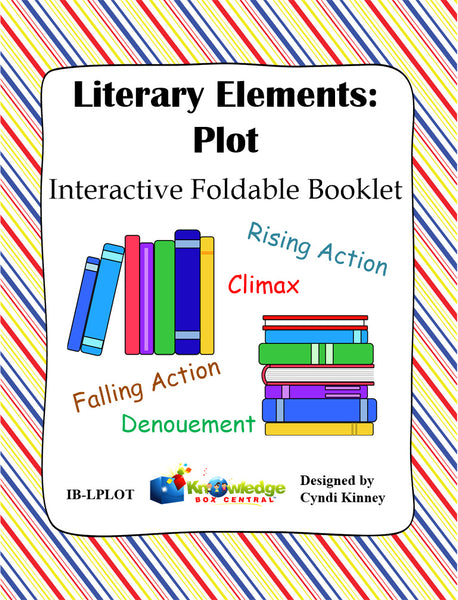 Literary Elements: PLOT Interactive Foldable Booklets