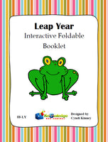 Leap Year Interactive Foldable Booklets