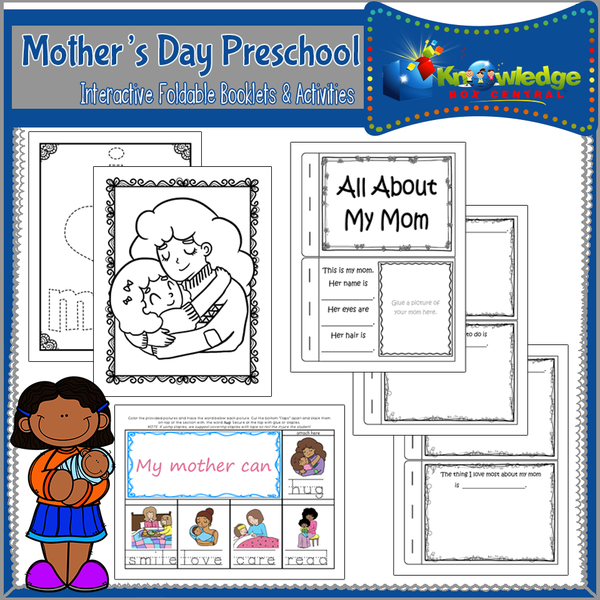 Mother's Day Preschool Interactive Activities