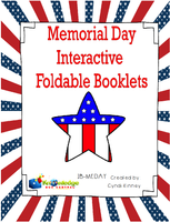 Memorial Day Interactive Foldable Booklets