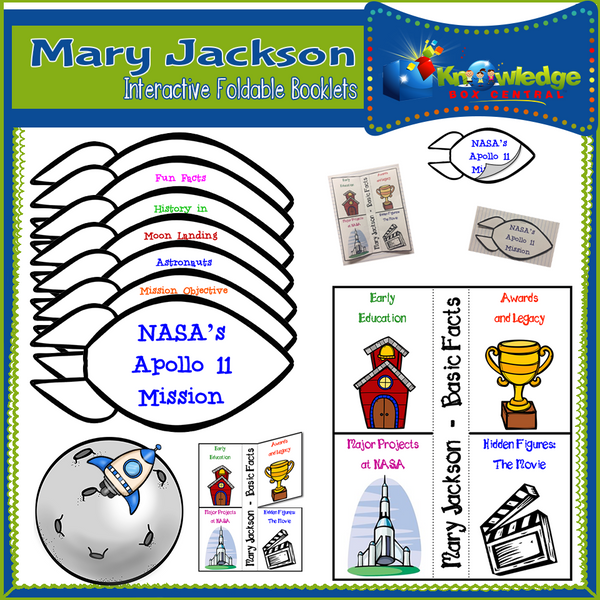 Mary Jackson Interactive Foldable Booklets