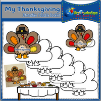 My Thanksgiving Interactive Foldable Booklets