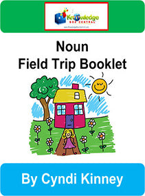 Noun Field Trip Interactive Foldable Booklets