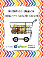 Nutrition Basics Interactive Foldable Booklets