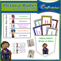 Octavia Butler Interactive Foldable Booklets