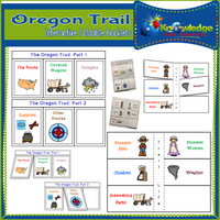 The Oregon Trail  Interactive Foldable Booklets