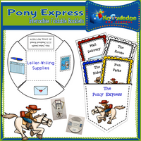 The Pony Express Interactive Foldable Booklets