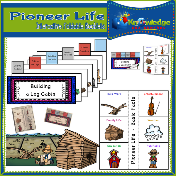 Pioneer Life Interactive Foldable Booklets