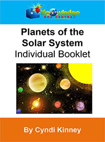 Planets of the Solar System Interactive Foldable Booklets