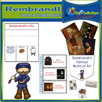 Rembrandt Interactive Foldable Booklets