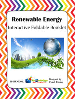 Renewable Energy Interactive Foldable Booklets