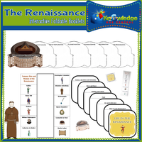 Renaissance Interactive Foldable Booklets