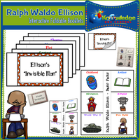 Ralph Waldo Ellison Interactive Foldable Booklets