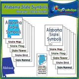 Alabama State History Interactive Foldable Booklets