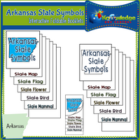 Arkansas State History Interactive Foldable Booklets