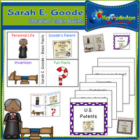 Sarah E. Goode Interactive Foldable Booklets