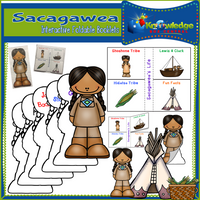 Sacagawea Interactive Foldable Booklets