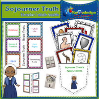 Sojourner Truth Interactive Foldable Booklets