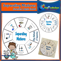 Separating Mixtures Interactive Foldable Booklets