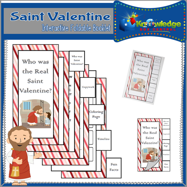 Saint Valentine Interactive Foldable Booklets