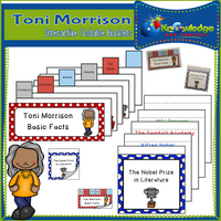 Toni Morrison Interactive Foldable Booklets
