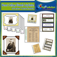 Women's Suffrage: Elizabeth Cady Stanton Interactive Foldable Booklets