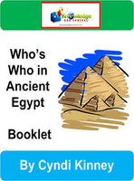 Who's Who in Ancient Egypt Interactive Foldable Booklets