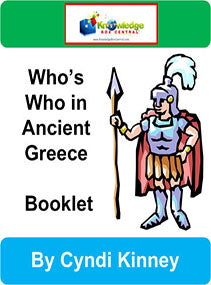 Who's Who in Ancient Greece Interactive Foldable Booklets