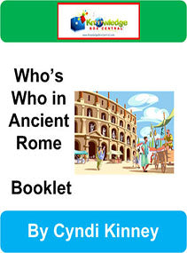 Who's Who in Ancient Rome Interactive Foldable Booklets