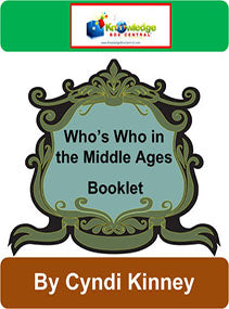 Who's Who in the Middle Ages Interactive Foldable Booklets