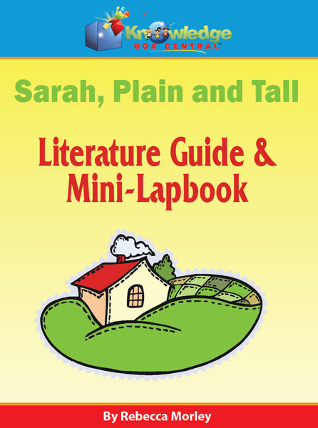 Sarah Plain and Tall Literature Guide & Mini-Lapbook