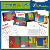 American Civil War Lapbook / Interactive Notebook