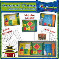 Ancient China Lapbook / Interactive Notebook