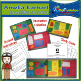 Amelia Earhart Lapbook / Interactive Notebook