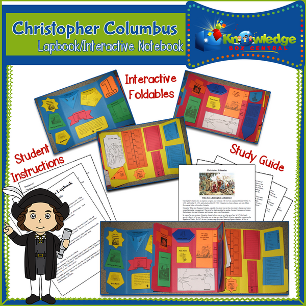Christopher Columbus Lapbook