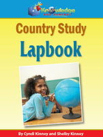 Country Study Lapbook (ANY Country)