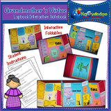 Grandmother's Virtues Interview Lapbook