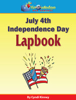 July 4th ~ Independence Day Lapbook