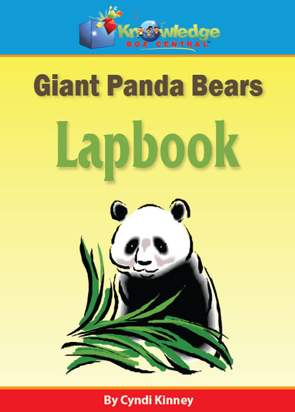 Giant Panda Bears Lapbook