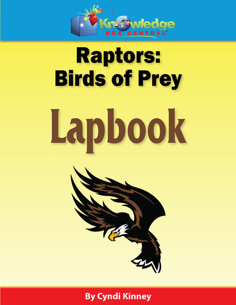 Raptors: Birds of Prey Lapbook