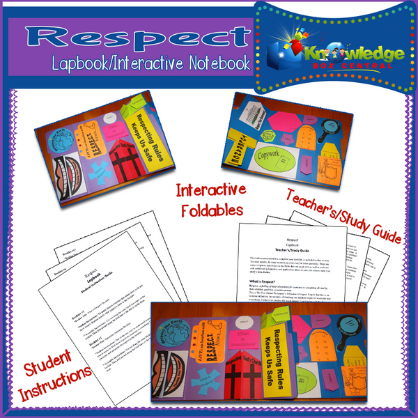 Respect Lapbook