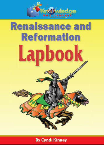 Renaissance & Reformation Lapbook