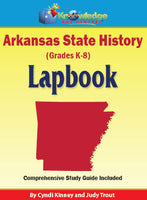 Arkansas State History Lapbook / Interactive Notebook