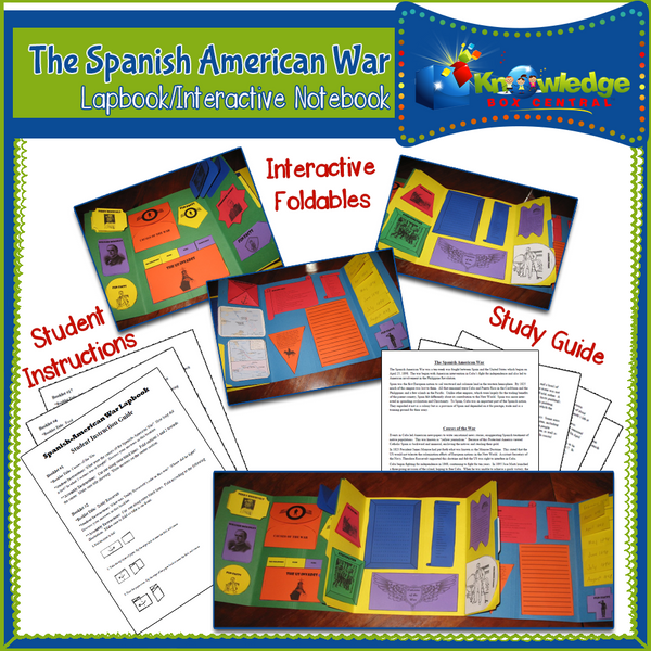 The Spanish American War Lapbook